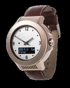 GPS klokke med elegant design